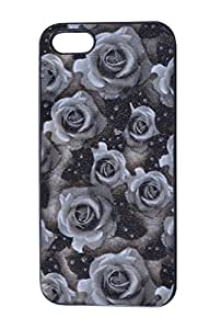 Noxey Back Cover For Apple iPhone 5/5s (Black)