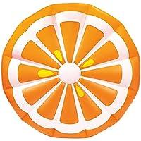 Schwimmbad Matte Pool Liege Intex Orange Scheibe Schwimmbad Aufblasbar