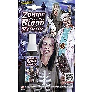 WIDMANN vd-wdm01141Spray Sangre Zombie, Rojo oscuro, 48ml