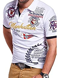 MT Styles Polo MANHATTAN manches courtes T-Shirt MP-306