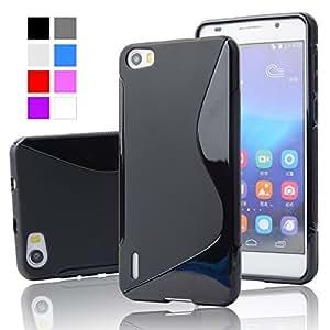 Honor 6 Magic Brand S-Line Black Soft Silicon Back Cover Case