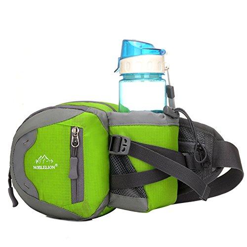 5 All Sling-Rucksack Sling Bag Chest Pack Taschen HANDY Tasche Outdoor Sports Camouflage Trekkingrucksack als Radfahr Jogging-Rucksack Kettle Paket Grün E