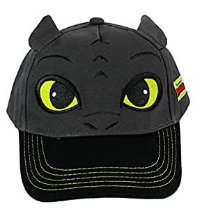 Cool Toothless Season 2 How to Train Your Dragon Night Fury Cap Cosplay Anime Baseball Hat Caps Peak Cap