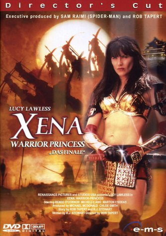 Xena: Warrior Princess Das Finale (Director's Cut) Batt-box