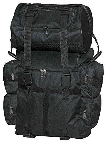Preisvergleich Produktbild Motorrad groß Sissy T Bar Bag Travel Plain Gepäck Tasche Neu Schwarz