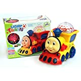 3D Light Train Engine With Very Cute Music & Lighting Effects On Floor And Ceiling Smart Toys For Smart Kids