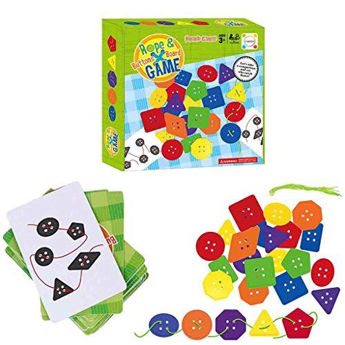 Mitlfuny Kawaii Langsam Dekompression Creme Duftenden Groß Squishy Spielzeug Squeeze Spielzeug,Seil & Knöpfe Brettspiel Kinder Desktop Interaktiv Elternspiel Puzzle Spielzeug