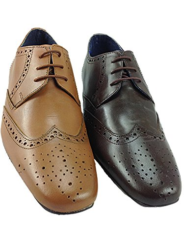 Foster Footwear, Mocassini uomo Marrone Brown Regolare Brown