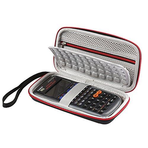 faylapa hartem Eva-Schutzhülle für Grafikrechner, Casio fx- 85DE Plus/fx-82de Plus/fx-991ex/fx-991de Engineering/Wissenschaftlicher Taschenrechner Schutzhülle Tragetasche Tasche (Fall nur)
