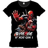 Tshirt homme Marvel - Deadpool Bite me - Legend Icon