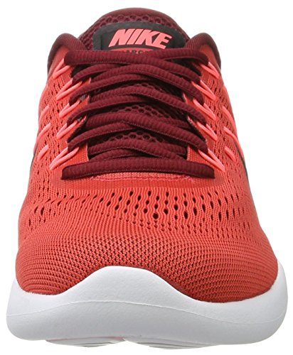 Nike Lunarglide 8, Scarpe da Corsa Uomo Multicolore (Track Red/black-team Red-hot Punch-white)