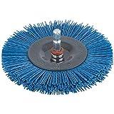 Wolfcraft 2727000 Brosse nylon circulaire T6 Diamètre 100 mm