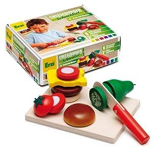 Erzi 28203 Juego de rol - Juegos de rol (Cocina y Comida, Estuche de Juego, 3 año(s), Niño, Niño/niña, Multicolor)