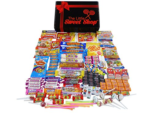 Retro Sweets Giant Treasure Box Gift Hamper (crammed full of mouth watering retro sweets)