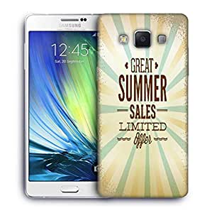 Snoogg summer vector illustration Designer Protective Back Case Cover For Samsung Galaxy ON5