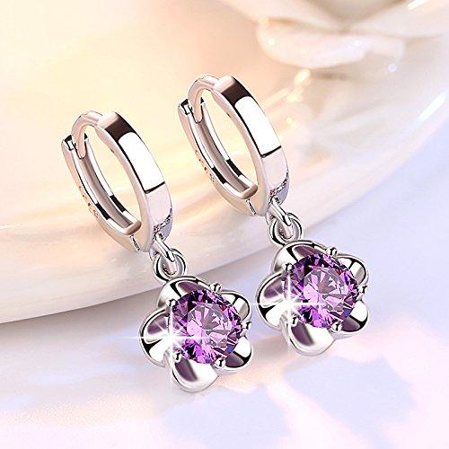 Ohrringe weiblich 2019 neue Trend S925 Sterling Silber hypoallergen Temperament Ohrringe langen Absatz einfache wilde Ohrringe Ohrringe I