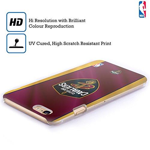 Officiel NBA Affligé Cleveland Cavaliers Étui Coque D'Arrière Rigide Pour Apple iPhone 5c Bannière