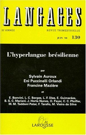 LANGAGES N°130 JUIN 98 : L'HYPERLANGUE BRESILIENNE