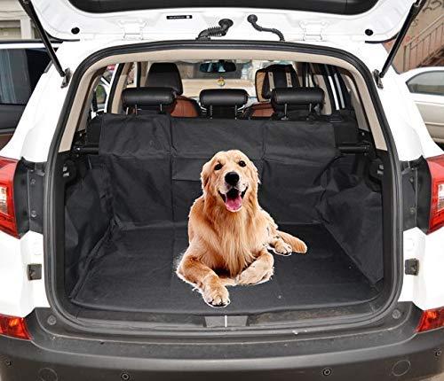 Car vision telo bagagliaio auto, telo bagagliaio auto per cani, fodera per animali domestici, copribaule, impermeabile, con protezione laterale per cani, resistente, multiuso, lavabile, 170 * 155 cm.