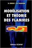 Modélisation et théorie des flammes