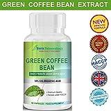 Estratto di Chicchi di Caffè Verde Premium da 1000mg per la Perdita di Peso .Le più potenti del Mercato. Brucia Grassi con 50% di Acido Clorogenico.