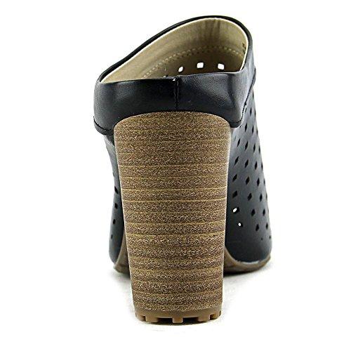 Rialto Maribel Synthétique Sandales Compensés Black-Burn-Smooth