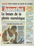 AUJOURD'HUI EN FRANCE [No 1017] du 11/09/2004 - AUTO-ECOLES - VASTE ARNAQUE AU PERMIS DE CONDUIRE - LE BOOM DE LA PHOTO NUMERIQUE - FABIUS ET L'EUROPE - ONDE DE CHOC AU PS - BREST - LE DRAME DU PETIT THOMAS - L'HOMEOPATHIE CONTINUERA A ETRE REMBOURSEE - LES SPORTS - MAURESMO NUMERO UN MONDIALE