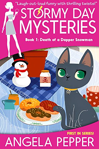 Death of a Dapper Snowman (Stormy Day Book 1) by Angela Pepper