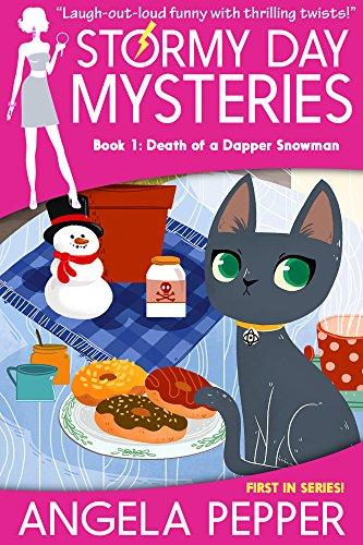 Death of a Dapper Snowman (Stormy Day Book 1) by Angela Pepper
