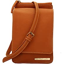 Lapis O Lupo Women's Sling Bag (Tan, LLSL0019TN)