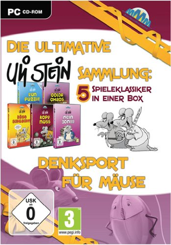 Die ultimative Uli Stein Sammlung: Mäuseakademie (5 Spiele) - [PC]