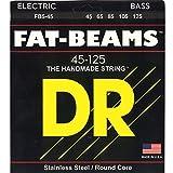 DR Strings FAT-BEAMS 42-125 Jeu de Cordes pour Guitare Basse
