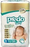 #9: Predo Baby NEWBORN Advantage Pack - 2-5 Kg, 54 Pcs