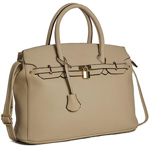 Big Handbag Shop - Sacchetto donna Khaki