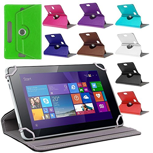 UC-Express Tablet Tasche f Jay Tech CANOX Tablet PC 101 Hülle Schutz Case Cover Schutzhülle, Farben:Braun
