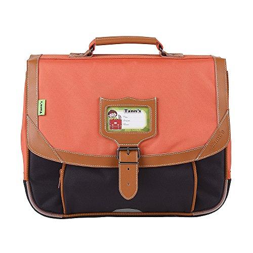Cartable 35 Orange-Gris Tann's ICONIC