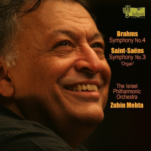 Brahms: Symphony No.4; Saint-Saens: Symphony No. 3 in C minor, op. 78 Organ by HELICON RECORDS (2012-01-10)