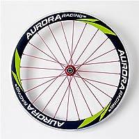 Aurora Racing aleación de 50 mm de profundidad 23 mm de ancho clincher carbon para bicicleta