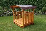 Gaspo 310375 - Spielhaus mit Sandkasten -