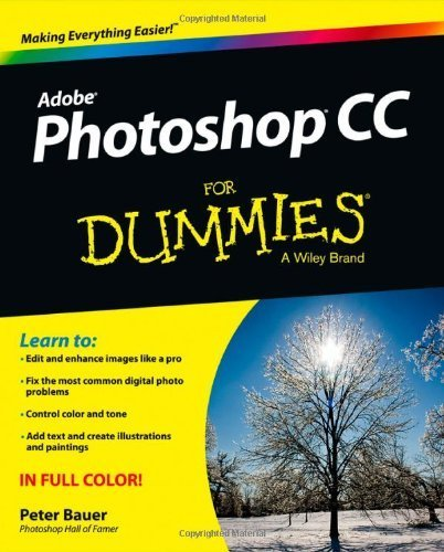 Photoshop CC For Dummies by Bauer, Peter (2013) Paperback