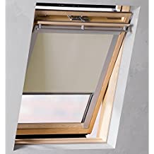 Sol Royal Sol Reflect D12 Estor persiana para ventana de tejados Velux oscurecente térmico C04 (38x74 cm) Beige