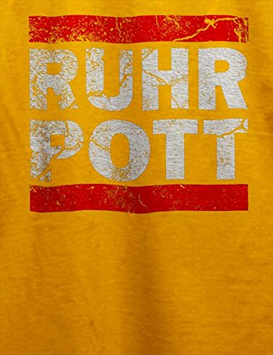 Ruhr Pott Vintage T-Shirt Gelb
