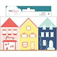 Dear Lizzy Lovely Day Stamp Set Sellos de Madera,, Taglia Unica