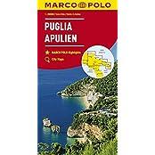 MARCO POLO Karten 1:200.000: MARCO POLO Karte Italien Blatt 11 Apulien 1:200 000