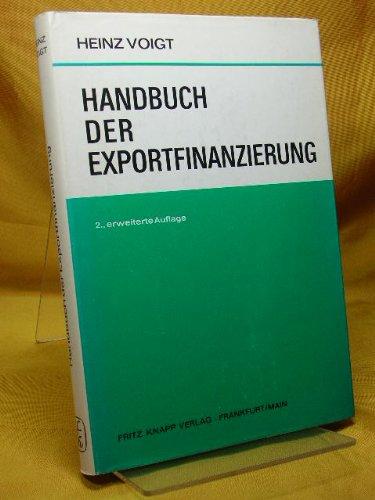 Handbuch der Exportfinanzierung.