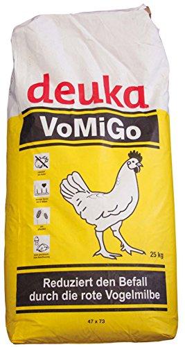 deuka 25 kg VOMIGO Legemehl Alleinfutter gegen die Rote Vogelmilbe