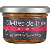 Rillettes de truite au naturel, 90 g, Pot de 90 g