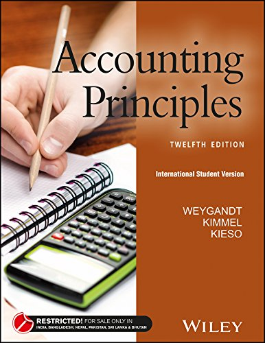 Accounting Principles, 12ed, ISV