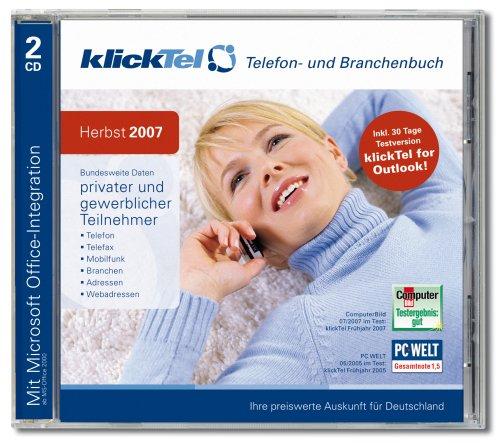 KlickTel Telefon- und Branchenbuch Herbst 2007