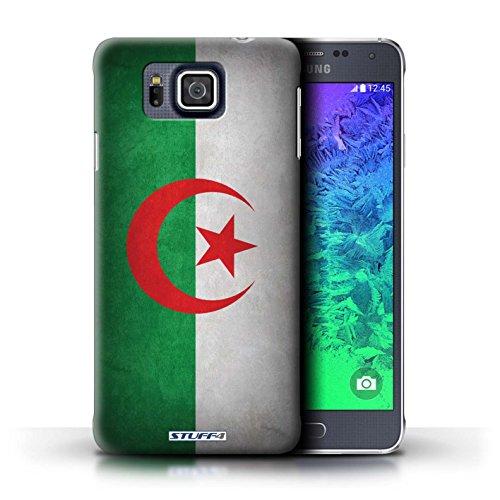 Kobalt® Imprimé Etui / Coque pour Samsung Galaxy Alpha / Algérie conception / Série Drapeau Algérie